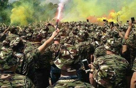 Οι οπαδοί της Δρέσδης ντύθηκαν στρατιώτες και πήγαν γήπεδο με παραλλαγή!