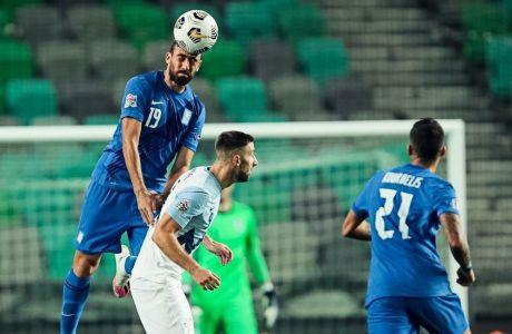 Ο Στράτος Σβάρνας έκανε το ντεμπούτο του στην Εθνική ομάδα, παίζοντας 90 λεπτά στην πρεμιέρα του Nations League 2020-21 με αντίπαλο τη Σλοβενία