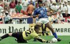 Ο Τιμ Φλάουερς σε παιχνίδι της Εθνικής Αγγλίας με τη Βραζιλία