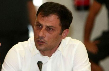 """Βασιλόπουλος: """"Θέλουμε γήπεδο"""". Ανδριόπουλος: """"Δεν θα μας σταματήσει οτιδήποτε"""" (VIDEOS)"""