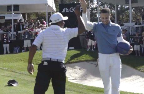 ΑΠΙΣΤΕΥΤΟ: Παίκτης του γκολφ νίκησε τον Κάρι στα σουτ!