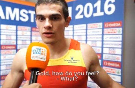 ΑΠΙΣΤΕΥΤΟ: Έμαθε στη Μικτή Ζώνη πως κέρδισε το χρυσό μετάλλιο!