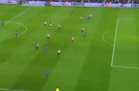 """Το ακυρωθέν γκολ του Σουάρες που έκανε το """"Camp Nou"""" να βράζει!"""