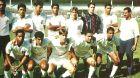 Το τελευταίο παιχνίδι του Ρονάλντο με την εφηβική ομάδα της Sao Cristovao στο γήπεδο της Φλουμινένσε (1992). Όρθιος, πρώτος από δεξιά.