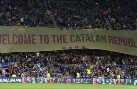 Ζητούν τη στήριξη της Μπαρτσελόνα στο δημοψήφισμα της Καταλονίας