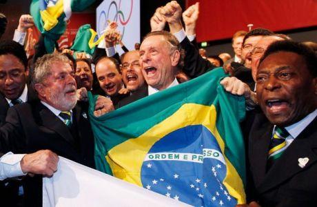 Υπό έρευνα οι υποψηφιότητες Βραζιλίας και Τόκιο για τους Ολυμπιακούς Αγώνες