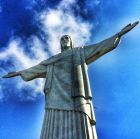 RIO DE JANEIRO, BRAZIL - JUNE 09:  (EDITORS NOTE: THIS IMAGE HAS BEEN CREATED WITH THE USE OF DIGITAL FILTERS) The Christ Redeemer Statue is seen on June 9, 2014 in Rio de Janeiro, Brazil.on June 9, 2014 in Rio de Janeiro, Brazil.  (Photo by Julian Finney/Getty Images)