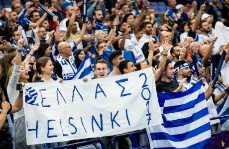 ÅÕÑÙÌÐÁÓÊÅÔ 2017 / ÅËËÁÄÁ - ÃÁËËÉÁ / EUROBASKET 2017 / GREECE - FRANCE (EUROKINISSI)