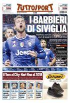 Το σούπερ πρωτοσέλιδο της Tuttosport για τo... ξύρισμα της Γιουβέντους