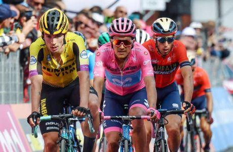 Ρόγκλιτς, Καραπάς και Νίμπαλι, οι τρεις πρώτοι στο φετινό Giro.
