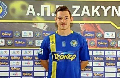 """""""Σπάει"""" καρδιές το μήνυμα ποδοσφαιριστή της Ζακύνθου για το πρόβλημα υγείας του"""