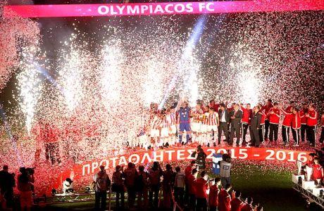 Κυριακάτικη φιέστα τίτλου για τον Ολυμπιακό