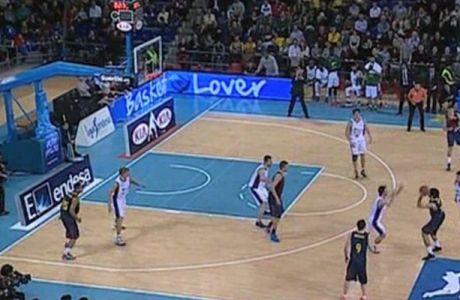 Ο Αμπρίνες πέτυχε το απίθανο και η Μπαρτσελόνα σώθηκε στην παράταση (VIDEO)