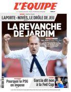 """Το αποθεωτικό πρωτοσέλιδο της """"Equipe"""" για Ζαρντίμ"""