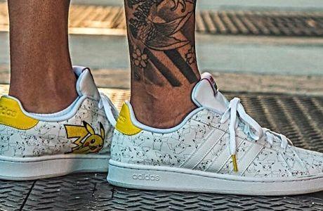 Τα νέα sneakers της adidas έχουν πρωταγωνιστή τον Πίκατσου