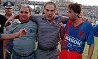 O Νίκος Αλέφαντος ως προπονητής του Πανιωνίου (1984)