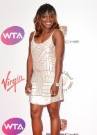 LONDON, ENGLAND - JUNE 19:  Sloane Stephens attends the WTA Pre-Wimbledon party at Kensington Roof Gardens on June 19, 2014 in London, England.  (Photo by Karwai Tang/WireImage)