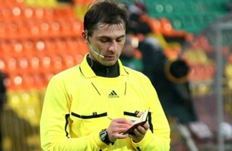 """Ο """"καρτάκιας"""" Ρώσος Εσκόφ """"σφυρίζει"""" τον Παναθηναϊκό"""