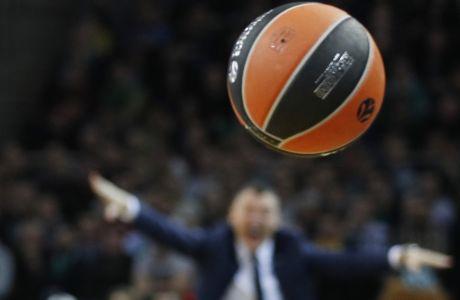 ÅÕÑÙËÉÃÊÁ / ÆÁËÃÊÉÑÉÓ ÊÁÏÕÍÁÓ - ÐÁÏ / EUROLEAGUE / ZALGIRIS KAUNAS - PANATHINAIKOS (Eurokinissi Sports)
