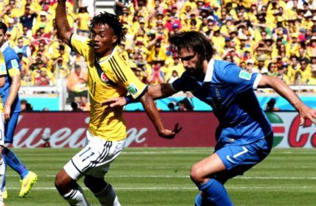 Κολομβία-Ελλάδα 3-0 (VIDEOS)