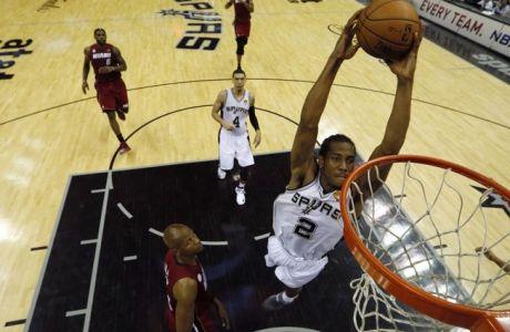 NBA Top 5: Τους ζάλισε ο Λέοναρντ (VIDEO)