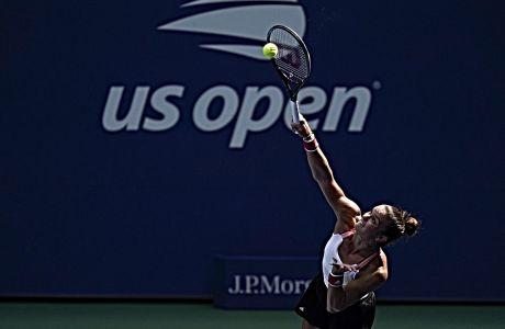 Η Μαρία Σάκκαρη έχασε από την Σερίνα Ουίλιαμς, στους '16' του US Open, εν τούτοις επιβεβαίωσε για μία ακόμη φορά πως εμφανίστηκε στην παγκόσμια σκηνή του τένις, για να μείνει.