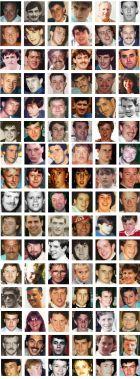 Τα 96 θύματα του Χίλσμπορο