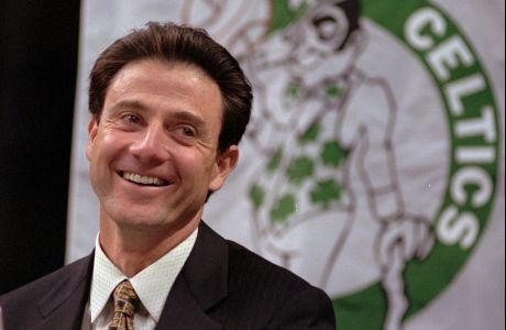 Μάιος 1997: Οι Σέλτικς παρουσιάζουν τον νέο τους προπονητή, Ρικ Πιτίνο
