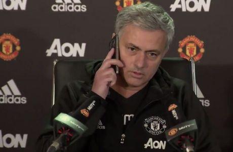 """""""Σόου"""" Μουρίνιο στη συνέντευξη ενόψει Λίβερπουλ!"""
