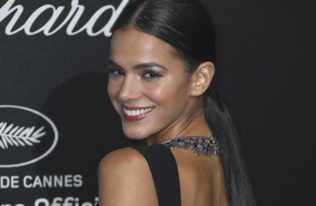Actress Bruna Marquezine poses for photographers upon arrival at the Chopard Secret party during the 71st international film festival, Cannes, southern France, Friday, May 11, 2018. (Photo by Joel C Ryan/Invision/AP)
