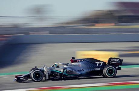 Το νέο μονοθέσιο της Mercedes στις δοκιμές της Βαρκελώνης