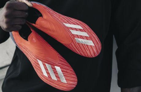 """Τα αστέρια του ποδοσφαίρου θα φορούν τη νέα """"εκρηκτική"""" συλλογή παπουτσιών της adidas """"Exhibit"""""""