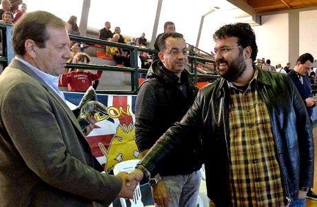 Ο Βασιλειάδης στο φιλικό της ΑΕΚ με την Κυπελλούχο Παλαιστίνης