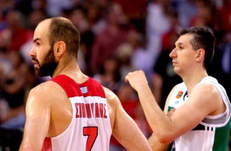 Ο Βασίλης Σπανούλης και ο Δημήτρης Διαμαντίδης πρωταγωνιστές στο δεύτερο μισό της ένδοξης 30ετίας του ελληνικού μπάσκετ