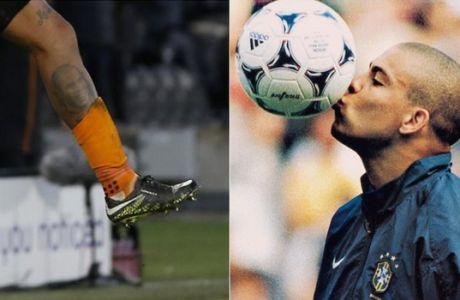 Παίκτης του Μάρκο Σίλβα έκανε τατού στο πόδι τον Ρονάλντο