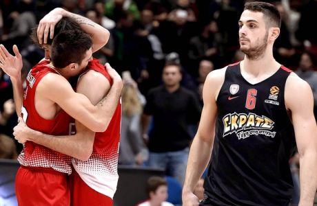 ÅÕÑÙËÉÃÊÁ / ÁÑÌÁÍÉ ÌÉËÁÍÏ - ÏÓÖÐ / EUROLEAGUE / ARMANI MILANO - OLYMPIAKOS (Eurokinissi Sports)