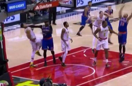 Ο Carmelo Anthony έριξε μπουνιά και αποβλήθηκε