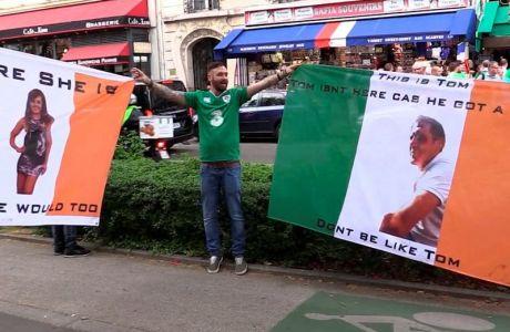 """Ιρλανδοί """"έδωσαν στεγνά"""" τον """"Larry"""" κολλητό τους"""