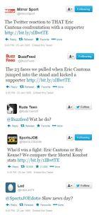 Αν ο Καντονά κλωτσούσε τον οπαδό της Κρίσταλ Πάλας και υπήρχε twitter (PHOTOS & VIDEOS)
