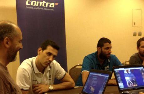 Η συζήτηση με τους Νίκο Ζήση και Γιάννη Μπουρούση στο Contra.gr