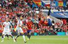 Ο Αντούριθ σε εντυπωσιακή επιθετική προσπάθεια στον αγώνα της Ισπανίας με την Τσεχία στο EURO του 2016 (13/6/2016).