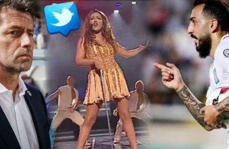 """Ρεσιτάλ στο Twitter για το Κύπρος-Ελλάδα: """"Και τι είναι το ποδόσφαιρο, μια μικρή Eurovision""""!"""