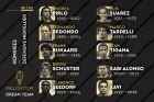 Οι υποψήφιοι του France Football για τον τίτλο του καλύτερου αμυντικού μέσου όλων των εποχών