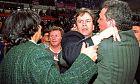 Ο Γιάννης Ιωαννίδης σε ημιάγρια κατάσταση, σε ένα ματς Ολυμπιακού-Άρη το 1993 στο ΣΕΦ