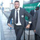 O Μάρκους Μπεργκ στο αεροδρόμιο 'Ελευθέριος Βενιζέλος'
