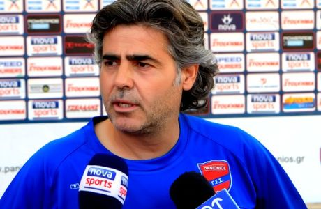 "Tερεζόπουλος: ""Ο Πανιώνιος είναι μεγάλη ομάδα με βαριά φανέλα"""