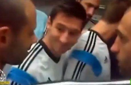 Μπήκε στο ίδιο ασανσέρ με όλη την Αργεντινή (VIDEO)