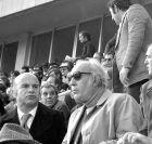 ΟΣΦΠ-ΗΡΑΚΛΗΣ 3-0: O Νικος Γουλανδρής στα επίσημα του 'Καραϊσκάκης'