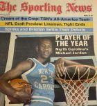 Ο Μάικλ Τζόρνταν παίκτης της χρονιάς σύμφωνα με το Sporting News, το 1983. Λιγους μήνες μετά βρέθηκε στην Αθήνα
