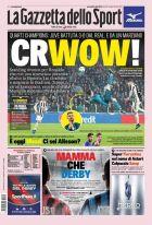 """Η υπόκλιση της """"Gazzetta dello Sport"""" στον Κριστιάνο Ρονάλντο"""